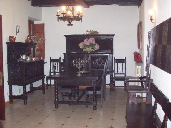 Hotel La Lastra: Comedor pequeño