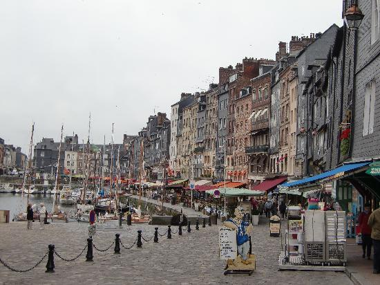 Honfleur, Frankrike: かわいらしい港町♪