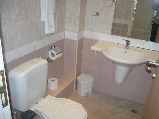 Hotel Orchidea: Bathroom