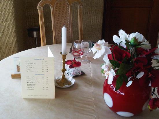 Castel Moor : Salle de restaurant