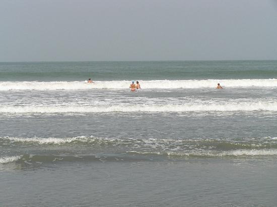 Senegambia Beach Hotel: The beach by the hotel