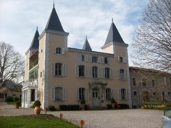 Saint-Girons, France : château de beauregard