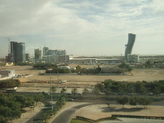 Holiday Inn Abu Dhabi: View from our room 813