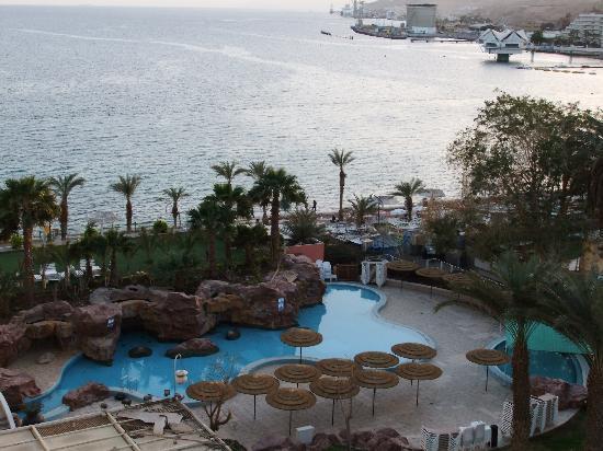 Leonardo Plaza Hotel Eilat : the closed pool
