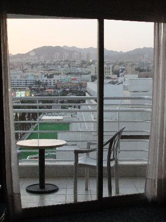 Leonardo Plaza Hotel Eilat: view of balcony in new wing