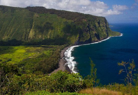 Pulau Hawaii, HI: Waipo Valley