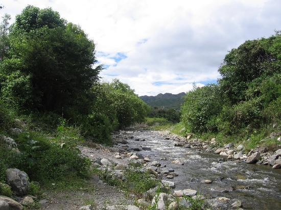 Vilcabamba, Ekvador: river nearby