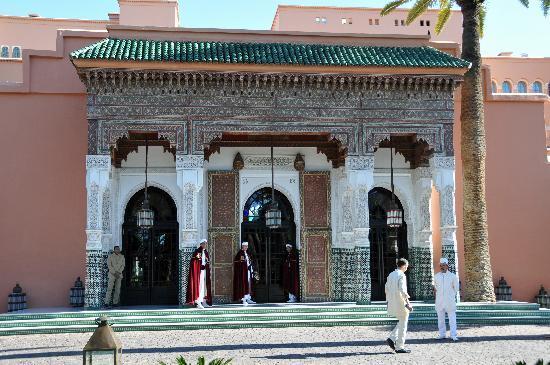 La Mamounia Marrakech : L'ingresso