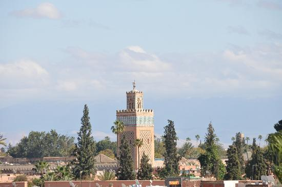 La Mamounia Marrakech : La vista dalla camera