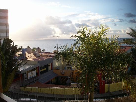 Apartamentos MarinaSol: a view of the beach from apartments