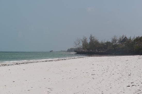 Spice Island Hotel & Resort Zanzibar: unendlicher Strand