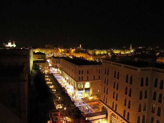 Mamilla Hotel : view from rooftop