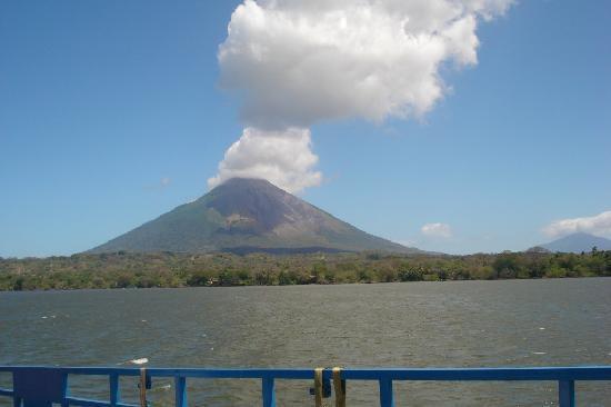 Finca San Juan de la Isla: Volcan Concepcion