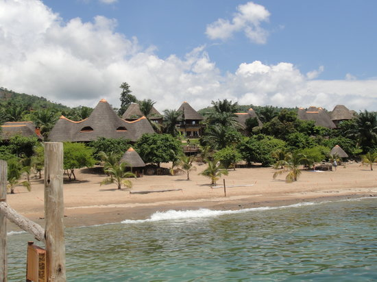 Tanganyika Blue Bay Resort : Blue Bay Resort view