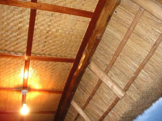 Tanganyika Blue Bay Resort : Woven Roofing