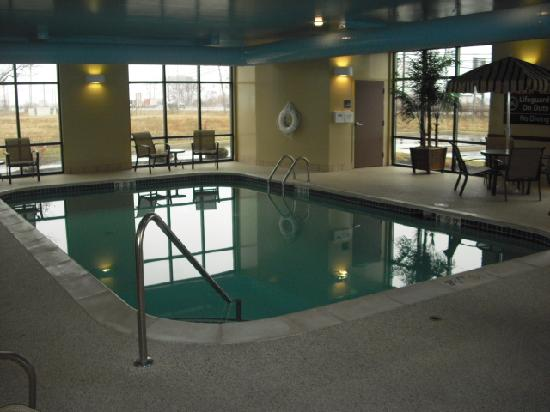 Hampton Inn & Suites Toledo-Perrysburg: Indoor pool