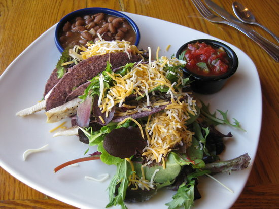 Abiquiu, NM: Blue corn trout tacos