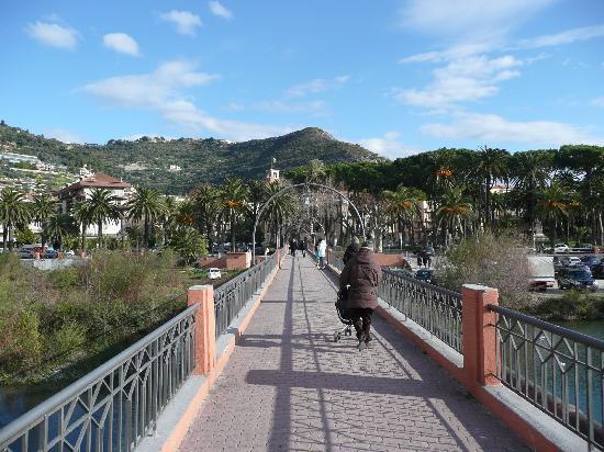 Ventimiglia, Italië: Ponte Tenda