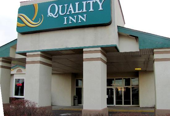 Quality Inn: The motel