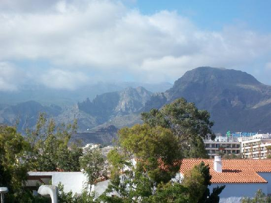 Parque Santiago: mountains from our room