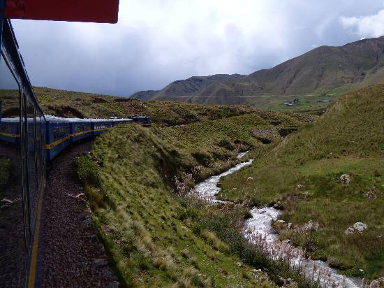 PeruRail Andean Explorer: View from the observation car
