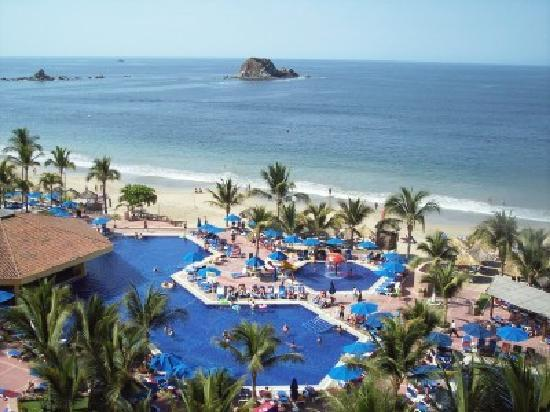 Barcelo Ixtapa : OCEAN POOL VIEW
