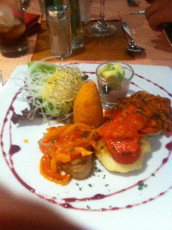 Howard Johnson Hotel Quito: Entrada deliciosa