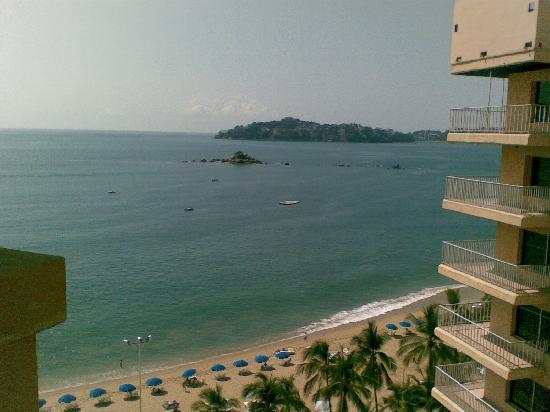 Ritz Acapulco: Vista desde la habitacion.