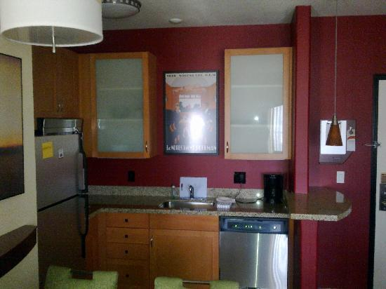 Residence Inn Prescott: Shot of the kitchen sink and counter