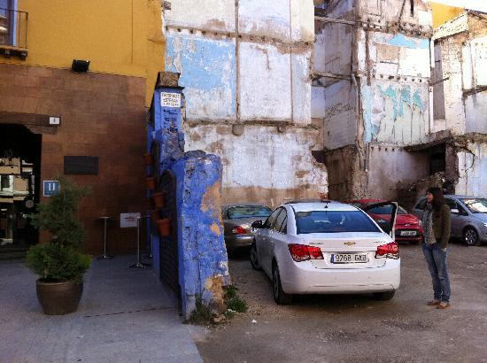 Calatayud, Spain: el parking