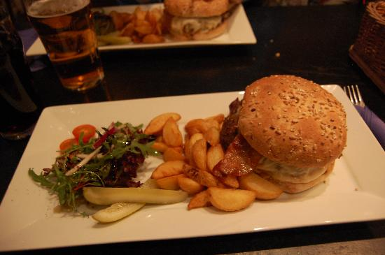 The Temple Pub : l'hamburger