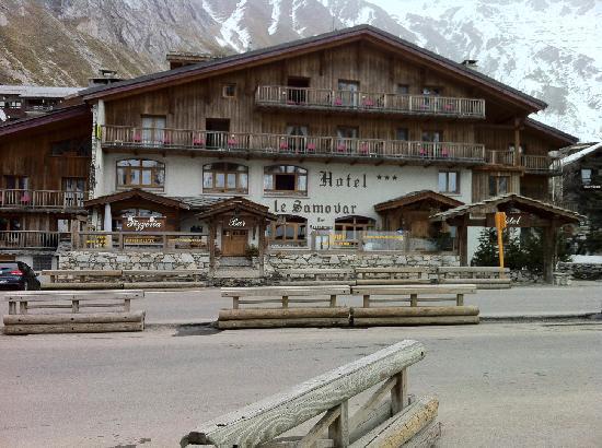 Le Samovar Hotel & Chalets : View of Le Samovar