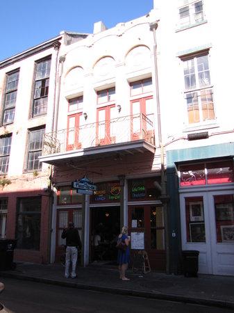 Cafe Fleur De Lis : front of restaurant