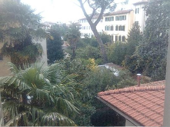 Hotel Genesio: Vista finestra