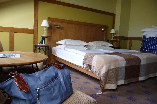 Central Hotel: Bedroom