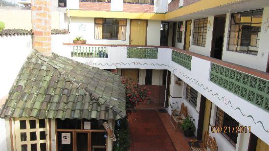 Hostal Rincon del Viajero: Courtyard