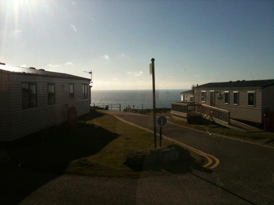 Perran Sands Holiday Park - Haven: view from our caravan