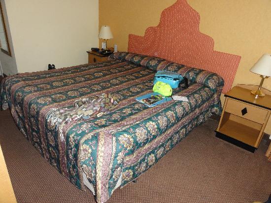 Layne Hotel: Chambre (mars 2011)