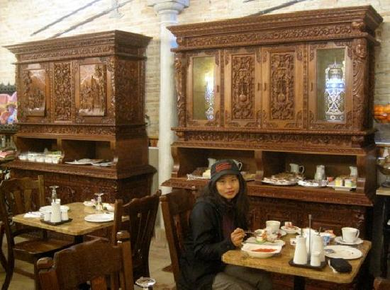 Hostal Lima: Dans la salle à manger