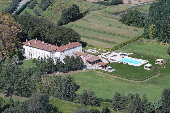 Villa Pitti Amerighi: overview