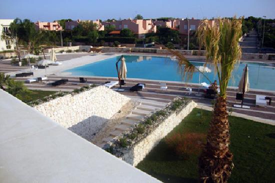 Campomarino, Ιταλία: La piscina di sera
