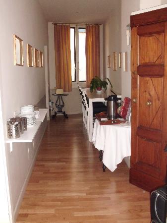 Residenza Dei Pucci: Angolo colazione