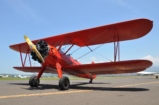 Southern Biplane Adventures: 'Lilly Warra', our beautiful biplane.