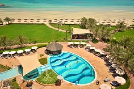 Danat Jebel Dhanna Resort: Top View