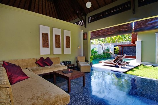Pradha Villas: Living area 2 Bed room / 1 Bed room split locked