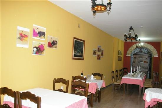 Hotel Medina Sidonia: Restaurante Cabeza de Toro