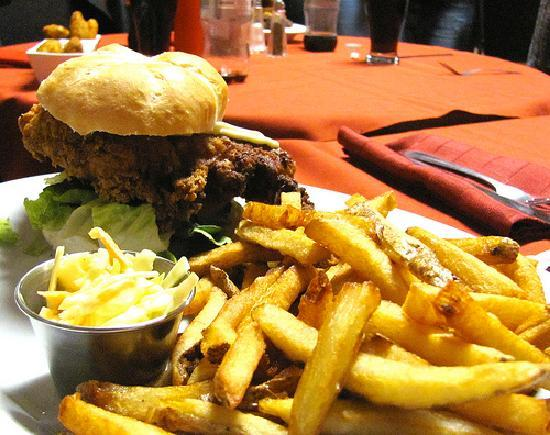 Cheachie's Grill: The Mother Clucker Burger