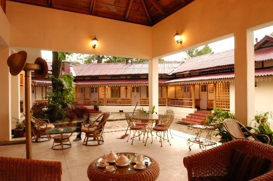Royal Heritage-Tripura Castle: Tea Lounge