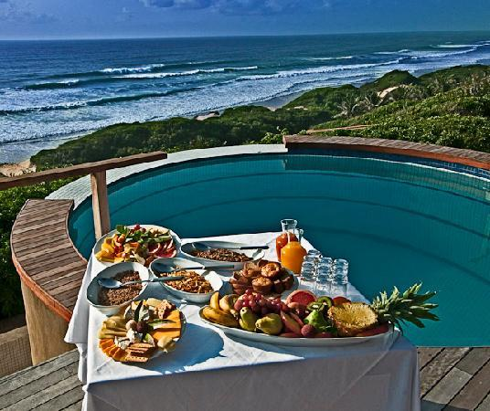 Massinga Beach Lodge: Goregeous food