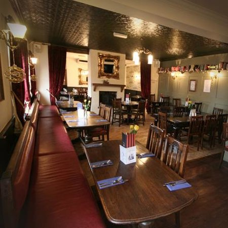 Sir Henry Morgan: Our restaurant seats up to 50 guests
